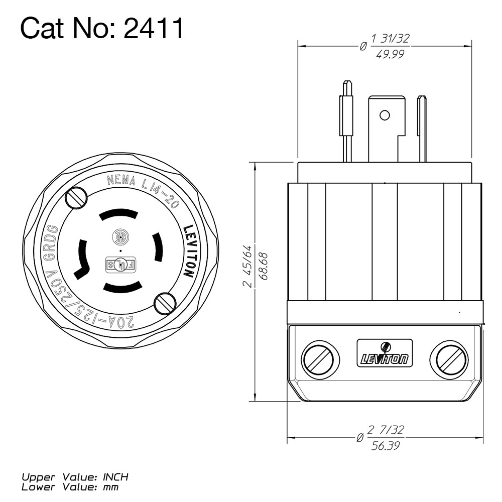 L14 20P Wiring Diagram from www.leviton.com