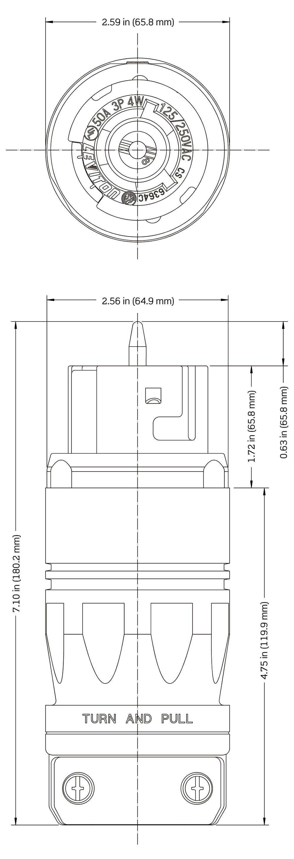 Atemberaubend Leviton 50 Ampere Schaltplan Ideen - Schaltplan Serie ...