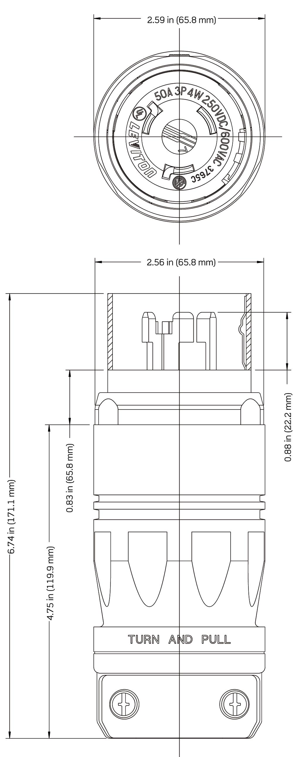 Leviton 220v Receptacle Wiring Diagram