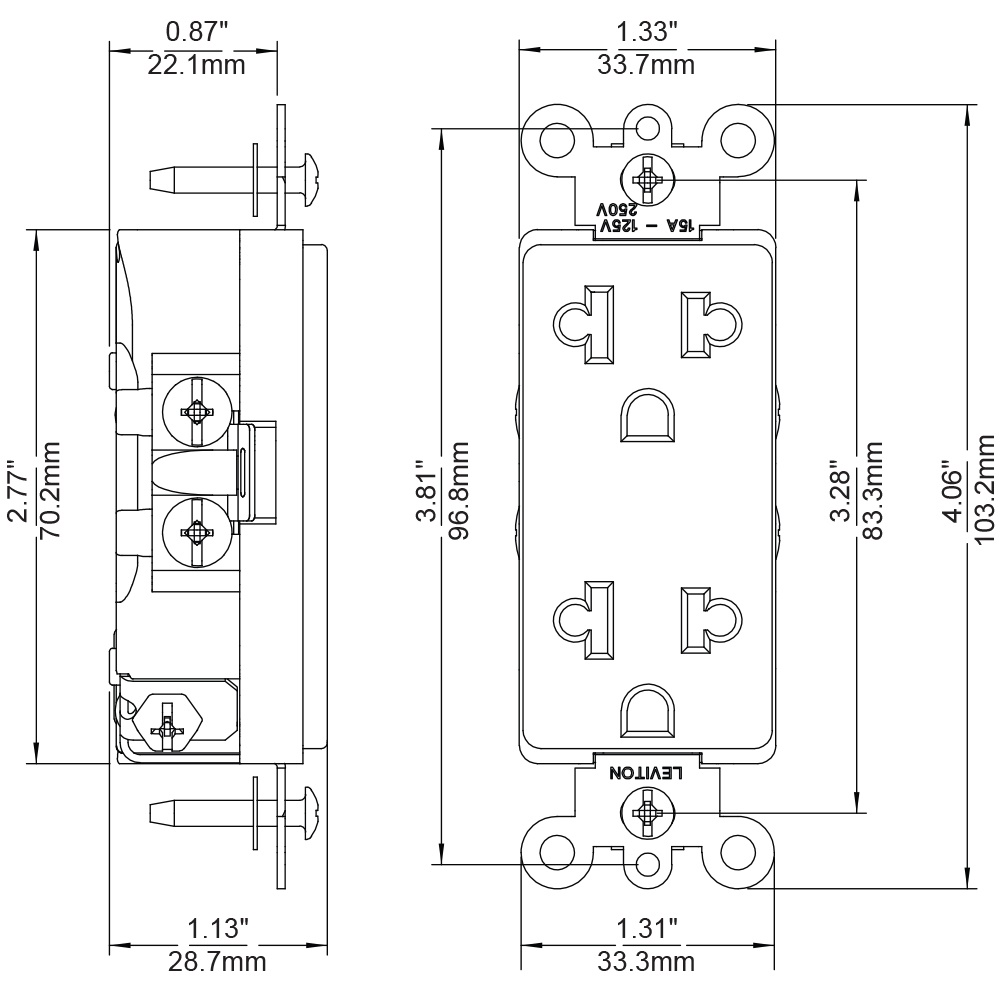 Nema 5 15p Wiring Diagram