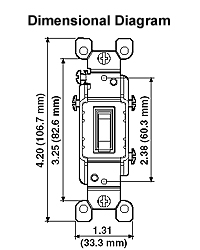1461 lc 15 amp toggle lighted handle illuminated ac quiet switch rh leviton com  leviton lighted switch wiring diagram