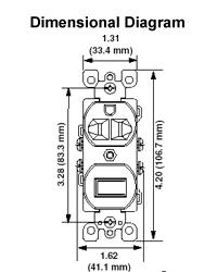 Document 32057 Dimensional_Data 5225 i 15 amp, 120 volt duplex style single pole 5 15r ac