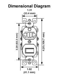 5245 w 15 amp 3 way 5 15r duplex style ac combination switch in leviton motion switch wiring leviton 5245 wiring diagram #37