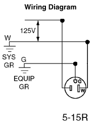 688 w 1 gang recessed single receptacle with clock hanger hook take one wiring diagram asfbconference2016 Images