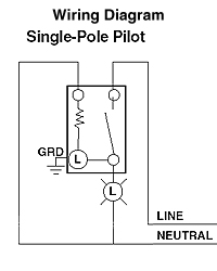 Illuminated Light Switch Wiring Diagram - Wiring Diagram Img