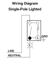 Document 34324 Wiring_Diagram 1461 lc 15 amp toggle lighted handle illuminated ac quiet switch