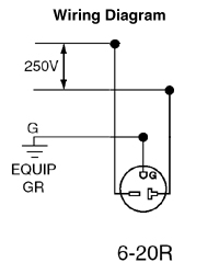 [DIAGRAM_38IS]  5821-W | 20a 240v Plug Wiring Diagram |  | Leviton