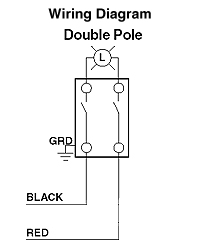 CS220-2GY | Two Pole Switch Wiring Diagram |  | Leviton