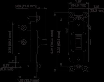 1288. Wiring Diagram. Wiring. Leviton Single Pole Double Throw Switch Wiring Diagram At Scoala.co