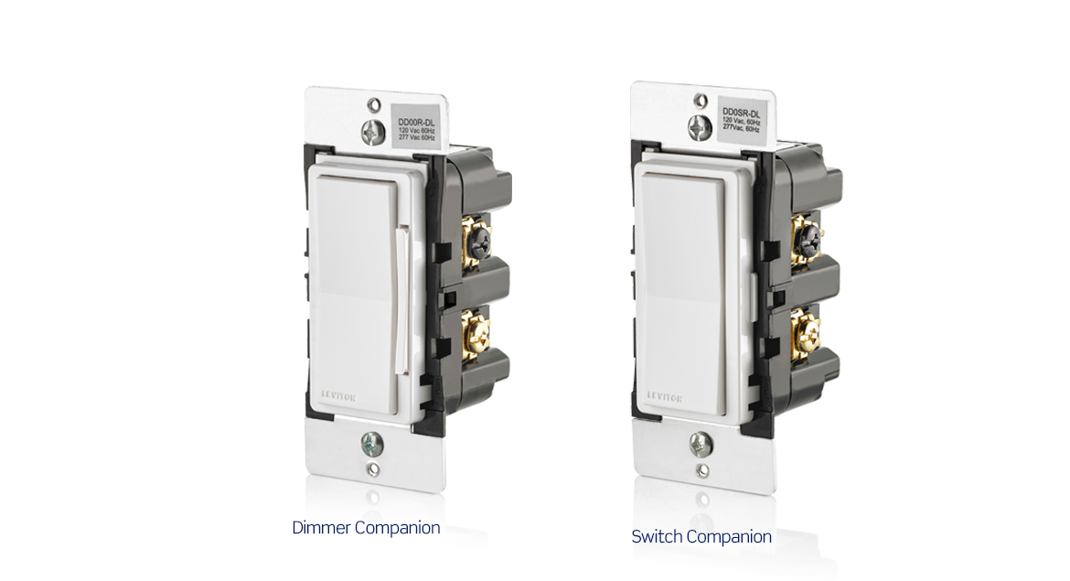 Companion Device Solution Wired, Leviton Dimmer Switch Wiring Diagram