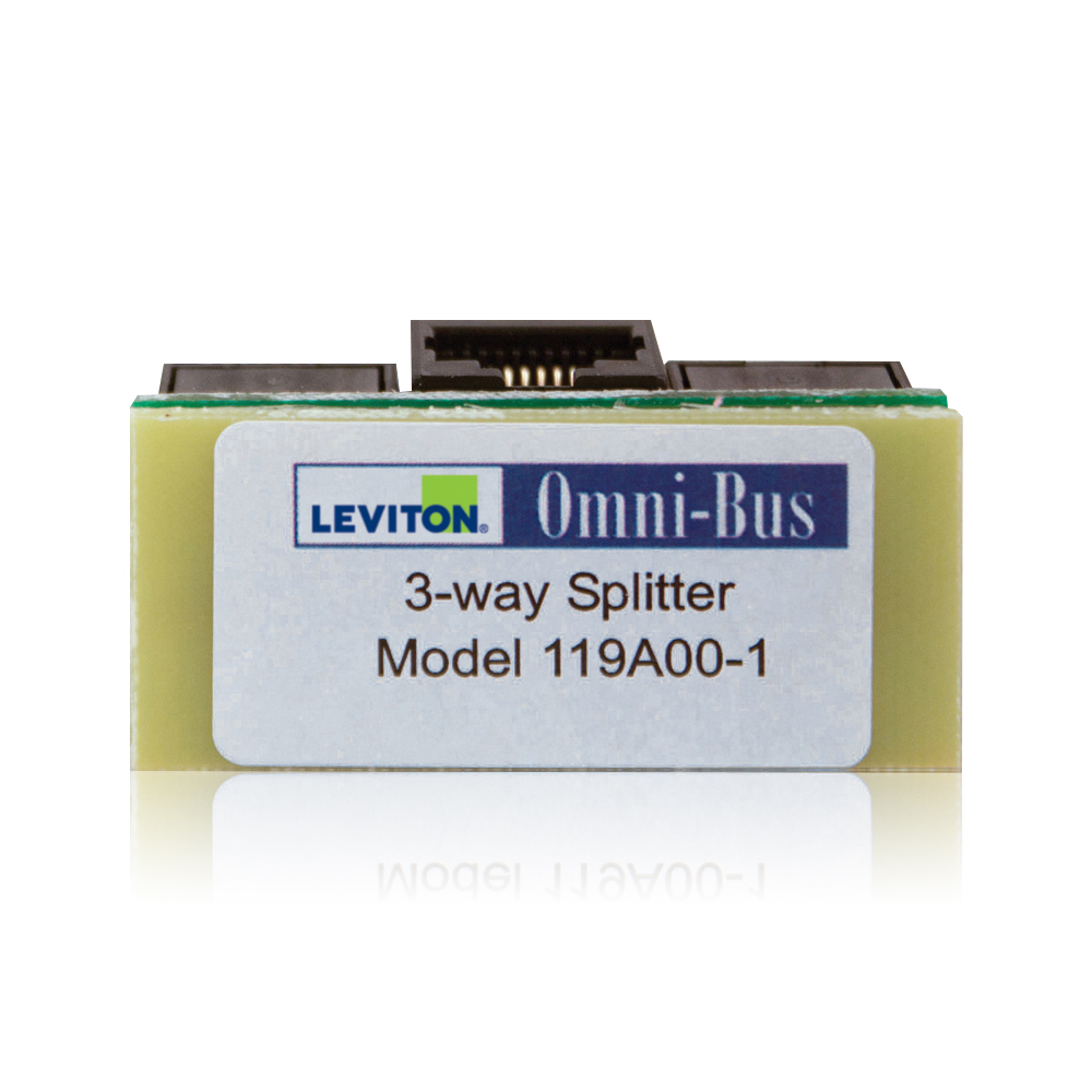 Leviton OMNI-BUS SPLITTER BOX 3-WAY