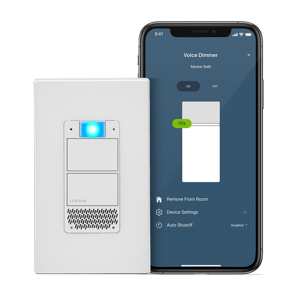 Decora Smart Voice Dimmer with Amazon Alexa Built-in