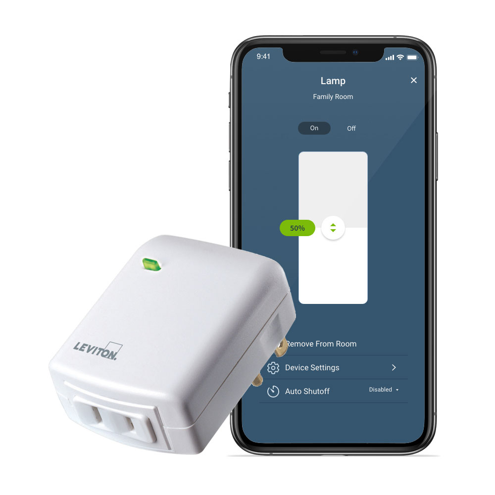 Leviton Decora Smart Wi-Fi Plug-in Dimmer