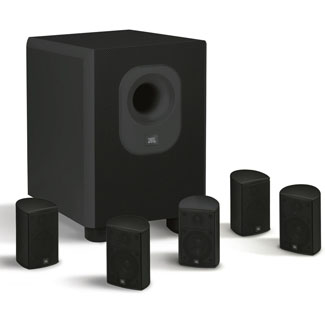 Leviton LEVITON ARCHITECTURAL EDITION POWERED BY JBL SATELLITE SPEAKER - BLACK