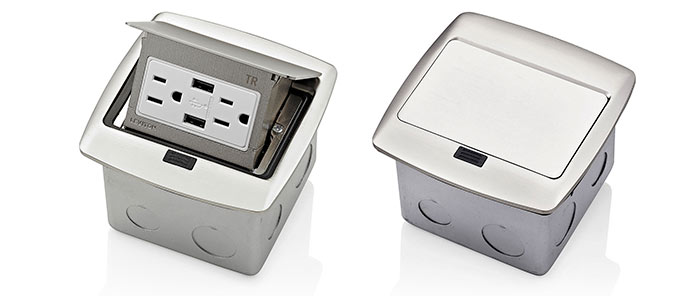 Tremendous Pop Up Floor Boxes From Leviton Wiring 101 Tzicihahutechinfo