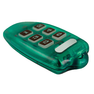 Leviton OMNI-BUS 6-CHANNEL KEY RING REMOTE CONTROL