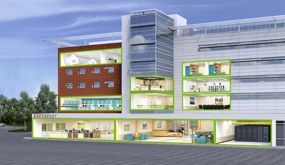 Networks for Health Care Facilities - Leviton Network Solutions
